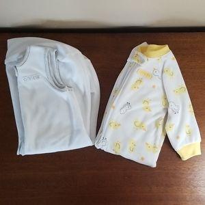 Carter's baby sleep sack set
